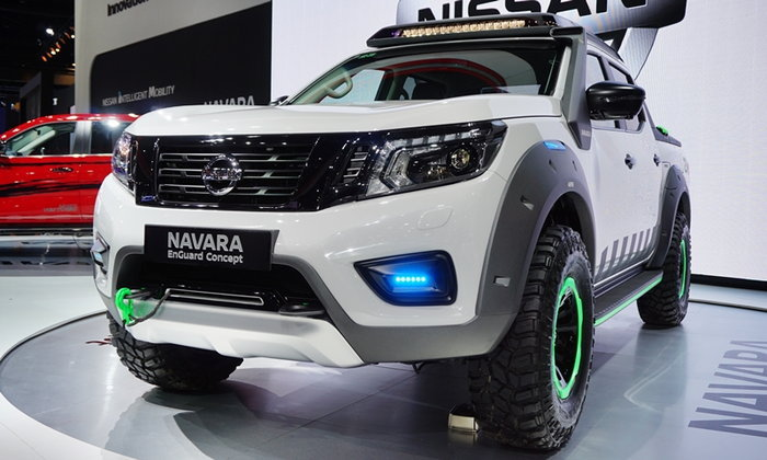 Nissan Navara EnGuard Concept เผยโฉมที่งานมอเตอร์เอ็กซ์โป 2016