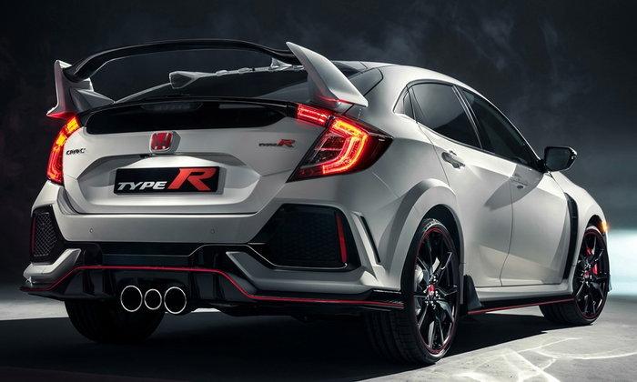 Honda Civic Type R 2017 ใหม่ พร้อมขุมพลังเทอร์โบ 2.0 ลิตรเปิดตัวแล้ว