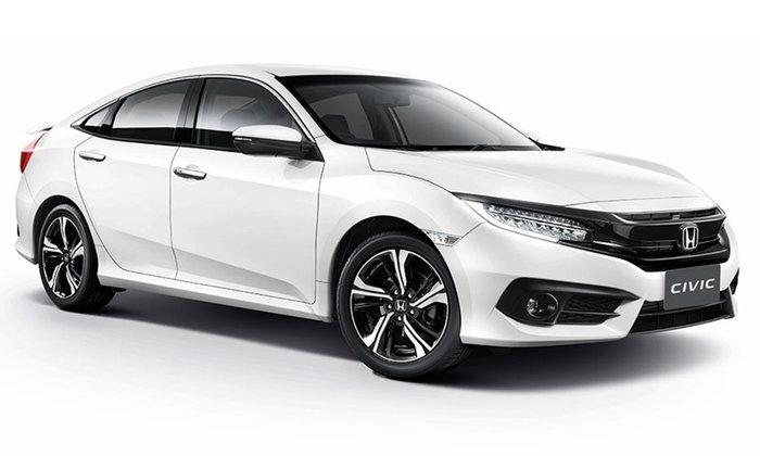 ราคารถใหม่ Honda ในตลาดรถยนต์ประจำเดือนมีนาคม 2560