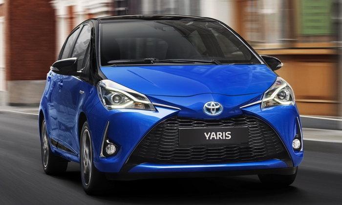 Toyota Yaris 2017 ไมเนอร์เชนจ์ใหม่ เคาะเริ่ม 5.4 แสนบาทที่อังกฤษ