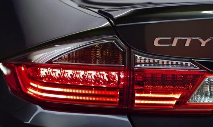 Honda City 2017 เวอร์ชั่นอินเดียมาพร้อมซันรูฟและไฟท้าย LED