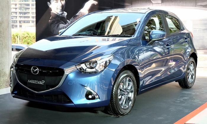Mazda 2 2017 ใหม่ เพิ่ม G-Vectoring Control ปรับราคาขึ้นเพียง 1,000 บาท