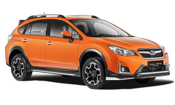 ราคารถใหม่ Subaru ในตลาดรถยนต์เดือนเมษายน 2560