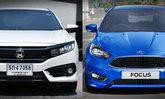 เทียบสเป็ค Honda Civic 1.5 RS และ Ford Focus 1.5 EcoBoost ราคาต่างกัน 1 แสน อ็อพชั่นใครเหนือกว่า?