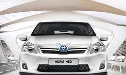 Preview  Toyota Auris HSD เครื่องไฮบริด
