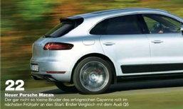 หลุด! Porsche Macan รุ่นใหม่ล่าสุดก่อนเปิดตัวที่ LA