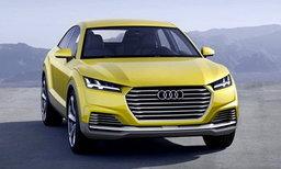 Audi TT Offroad Concept จับคูเป้มายกสูง
