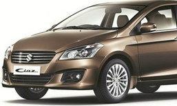 'Suzuki Ciaz' เผยโฉมแล้วในอินเดีย ขึ้นแท่นซีดานประหยัดน้ำมันที่สุด
