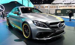 Mercedes-AMG C63 S Coupé รุ่นเล็กตัวแรงจี๊ดเผยโฉมที่งานมอเตอร์โชว์ 2016 เคาะ 9.99 ล้านบาท