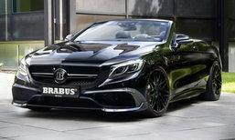Brabus 850 6.0 Biturbo Cabrio เปิดประทุนแรงที่สุดในโลก