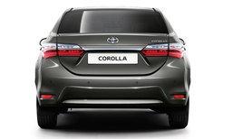 2017 Toyota Corolla ไมเนอร์เชนจ์ใหม่ จะมีเครื่องยนต์ 1.2 ลิตรเทอร์โบด้วย!
