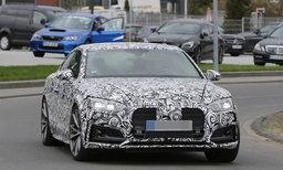 ภาพหลุด Audi RS5 Coupe เจเนอเรชั่นใหม่ขณะวิ่งทดสอบ