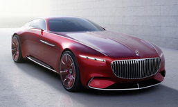 Vision Mercedes-Maybach 6 ต้นแบบคูเป้สุดหรูเผยโฉมแล้ว