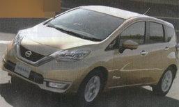 2017 Nissan Note พร้อมขุมพลังไฮบริดสุดประหยัด 40 กม./ลิตร