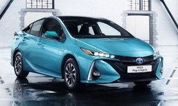 2017 Toyota Prius ปลั๊กอินไฮบริดสุดประหยัด 100 กม./ลิตร!