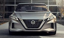 Nissan เปิดตัว Vmotion 2.0 ซีดานขับเคลื่อนอัตโนมัติ ในงานดีทรอยต์มอเตอร์โชว์ 2017