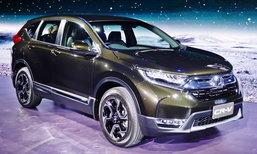 Honda CR-V 2017 ใหม่ พร้อมขุมพลังดีเซล i-DTEC ราคาเริ่ม 1.399 ล้านบาท