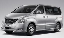 ราคารถใหม่ Hyundai ในตลาดรถยนต์ประจำเดือนกุมภาพันธ์ 2560