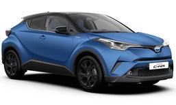 Toyota C-HR 2017 มีตัวถังสีด้านให้เลือกแล้วที่ทวีปยุโรป