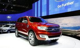 Ford Everest 2015 ใหม่เผยสเป็คมาพร้อมเครื่อง 3.2 ลิตร