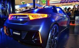 Honda S660 Concept โชว์ตัวจริงในงาน Tokyo Auto Salon 2015
