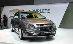 Chevrolet Amazing New Cruze 2015 ใหม่ เปิดตัวแล้วอย่างเป็นทางการ-ดีไซน์สดใหม่กว่าเดิม