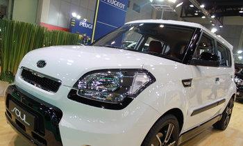 รถยนต์ Motor show 2010 -KIA