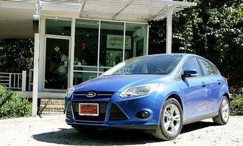 Sanook! Drive : Ford Focus Hatchback  1.6 Trend  หล่อได้ใจ..ถ้าไม่ Need  ของเล่นไฮเทค