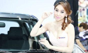 พริตตี้ SUBARU - Motor Show 2014
