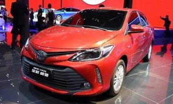 2017 Toyota Vios ไมเนอร์เชนจ์ใหม่เปิดตัวแล้วที่ปักกิ่งมอเตอร์โชว์