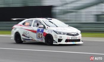เจ๋ง! โตโยต้าทีมไทยแลนด์นำ 'โคโรลล่า อัลติส' คว้าอันดับ 2 ในรายการ ADAC Zurich 24H-Race