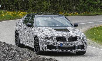 หลุด BMW M5 ใช้แพล็ตฟอร์มใหม่ ยัดขุมพลัง 626 แรงม้า