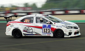 Toyota Corolla Altis Esport หนึ่งเดียวทีมไทย พิชิตชัย ADAC 24-Hour Race Nurburgring