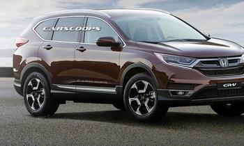 เผยภาพร่าง 2018 Honda CR-V ใหม่ ใกล้เคียงความจริงมากที่สุดขณะนี้