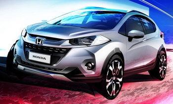 ภาพร่าง 2017 Honda WR-V ใหม่ ก่อนเปิดตัวจริงที่บราซิลปลายปีนี้