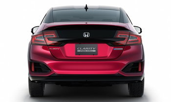 2017 Honda Clarity เผยวิ่งได้ไกล 580 กิโลเมตรไม่ใช้น้ำมัน
