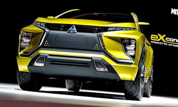Mitsubishi eX Concept เตรียมเปิดตัวที่งาน LA Auto Show 2016
