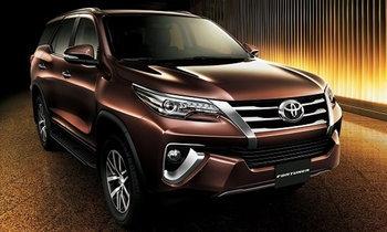 2017 Toyota Fortuner ขุมพลัง 4.0 ลิตรใหม่ เปิดตัวอย่างเป็นทางการที่ดูไบ