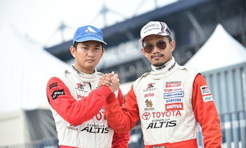 โตโยต้า ส่ง 2 นักแข่งไทยแข่งขัน Netz Cup Vitz Race ประเทศญี่ปุ่น