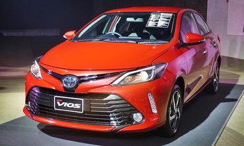 Toyota Vios 2017 ไมเนอร์เชนจ์ใหม่ เคาะรุ่นท็อปสุด 7.89 แสนบาท