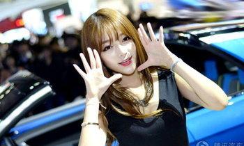 แอบส่องพริตตี้เกาหลีจากงาน Seoul Motor Show 2015
