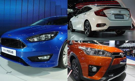 10 รถใหม่ห้ามพลาดในงานมอเตอร์โชว์ 2016