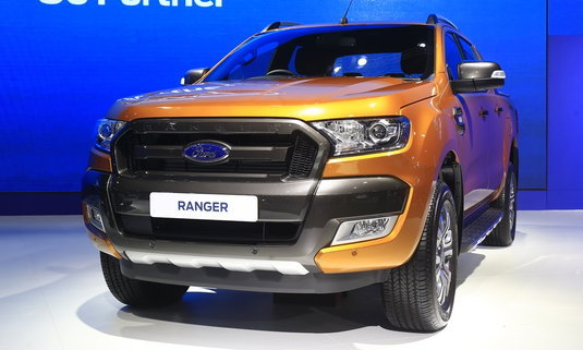 รถใหม่ Ford งาน Motorshow 2017
