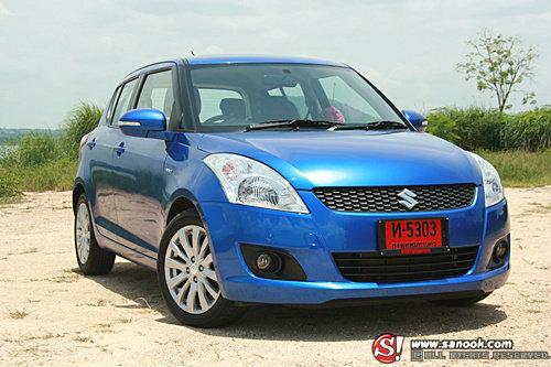 "Sanook Drive : Suzuki Swift GLX  มากกว่าแค่คำว่า ""อีโค่คาร์"""