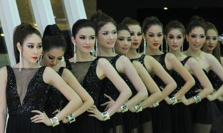 พริตตี้ TSL Motor Expo 2012