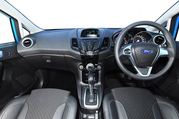 ภายใน Ford Fiesta EcoBoost