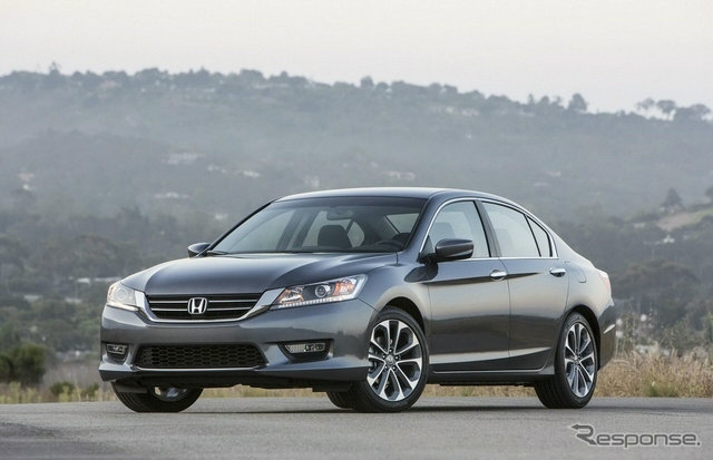 'Honda' โม้อวด 'Accord' ขายดีกว่า 'Camry'