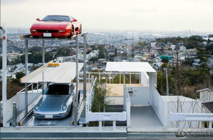 ที่จอดรถหรูลอยฟ้า คนรวยเท่านั้นถึงมีสิทธิ์!