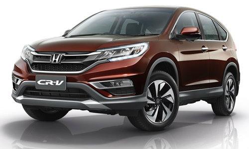 Honda CR-V 2015 ไมเนอร์เชนจ์ใหม่ เคาะเริ่ม 1.2 ล้านบาท