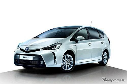 Toyota Prius α เวอร์ชั่นไมเนอร์เชนจ์เผยโฉมในยุโรป